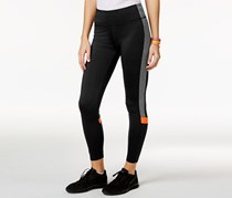 Active Juniors' Stacey Colorblocked Leggings, Black/Grey/Orange