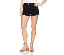 William Rast Women's Denim Short, Not Tomato Black