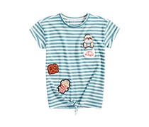 Jessica Simpson Olivia Patches Pocket T-Shirt, Combo