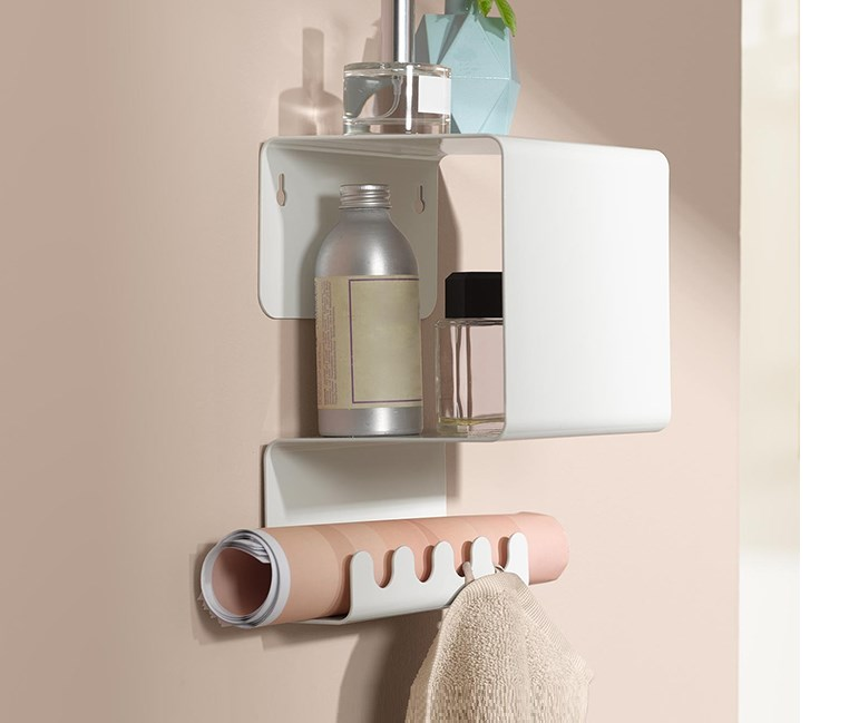 Functional Wall Shelves, White