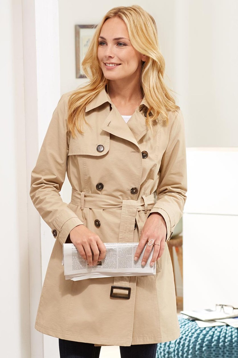 Women's Trench Coat, Beige