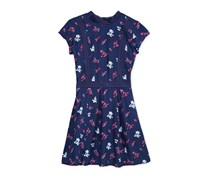 Tommy Hilfiger Floral-Print Dress, Flag Blue