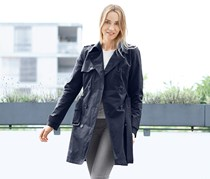Women's Trench Coat, Dark Blue