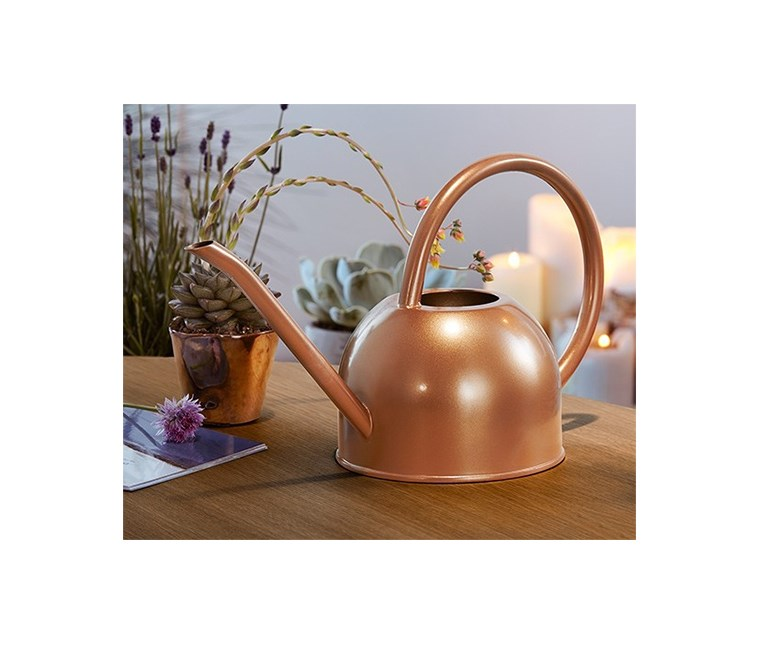 Watering Can, Copper-Colored