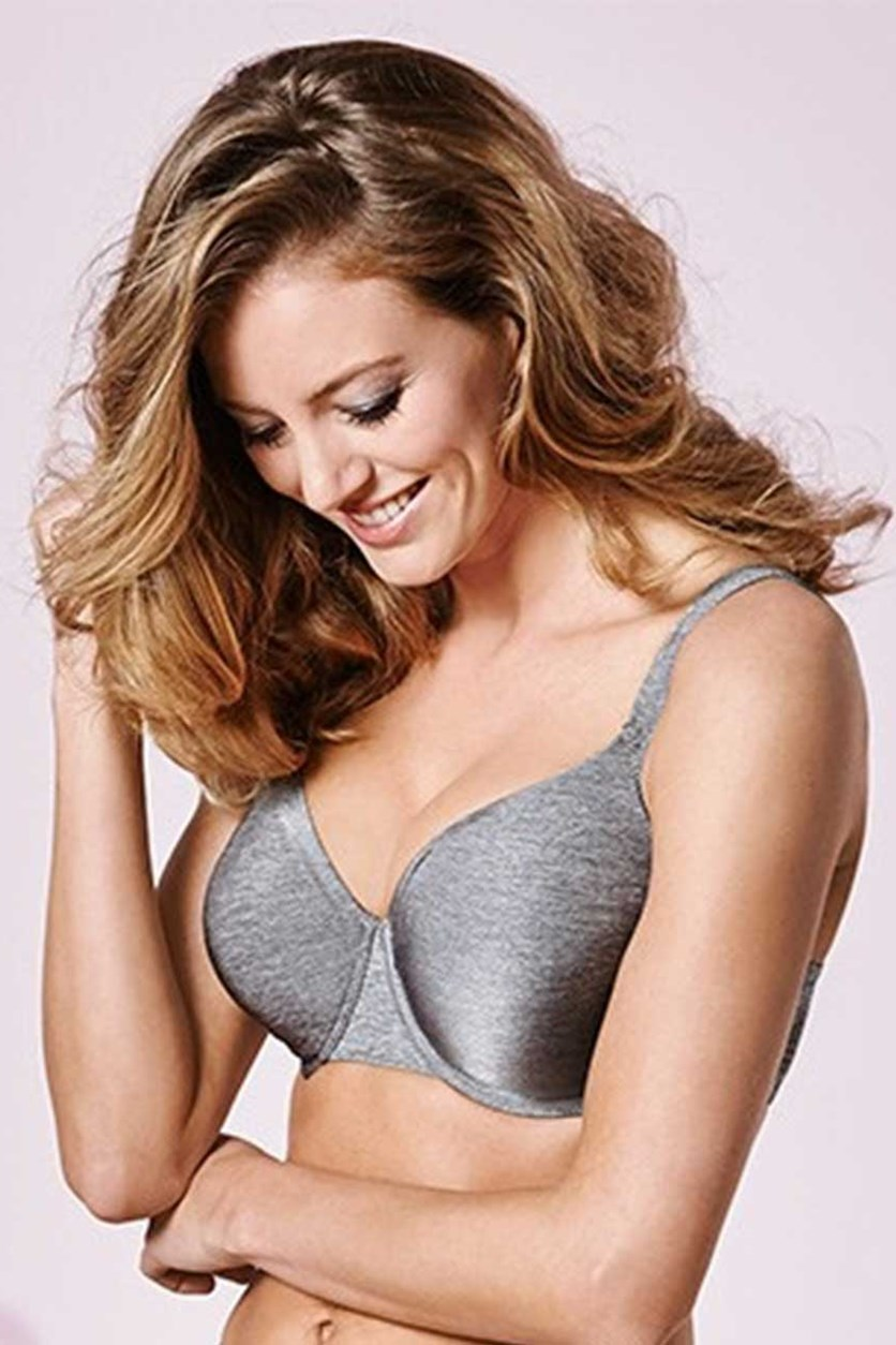 Women's Underwired Bra, Gray Melange