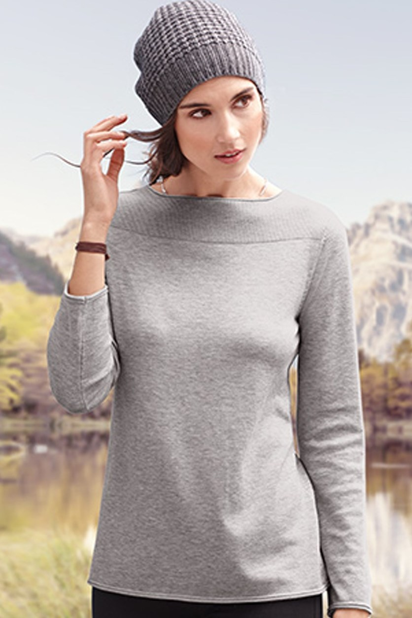 Women's Pullover, Gray