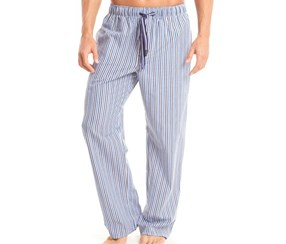 Papi Seersucker Sleep Pant,Navy/Blue