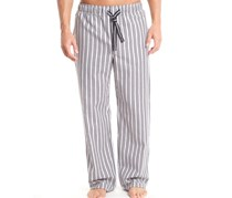 Papi Seersucker Sleep Pant,Black/Gray