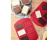 Chocolate Chip Cookie Kit, Silicone, Red