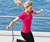 Women's Shirt, Sporty, Fuchsia