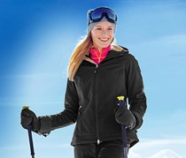 Women's Softshell Jacket, Black