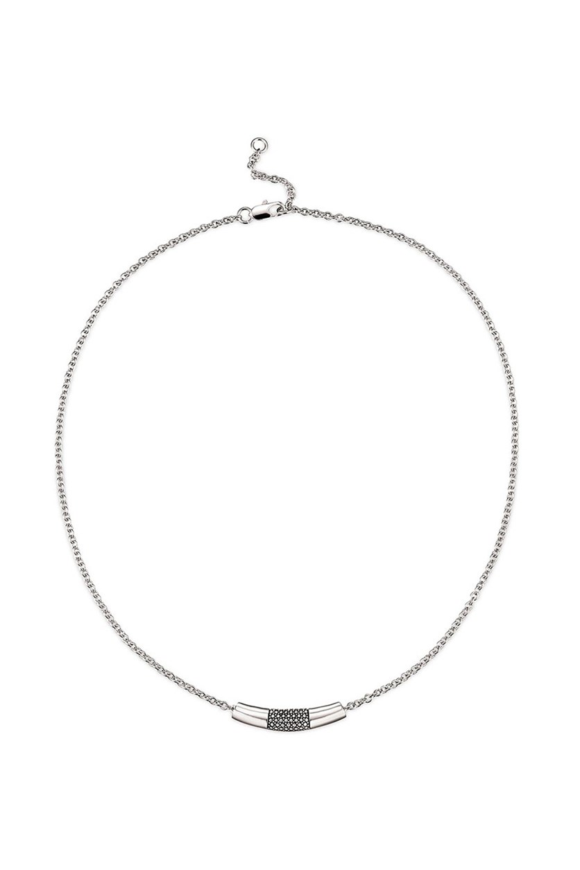 Women's Necklace, Rhodium Plated