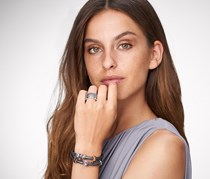 Women's Crystals Rings Set