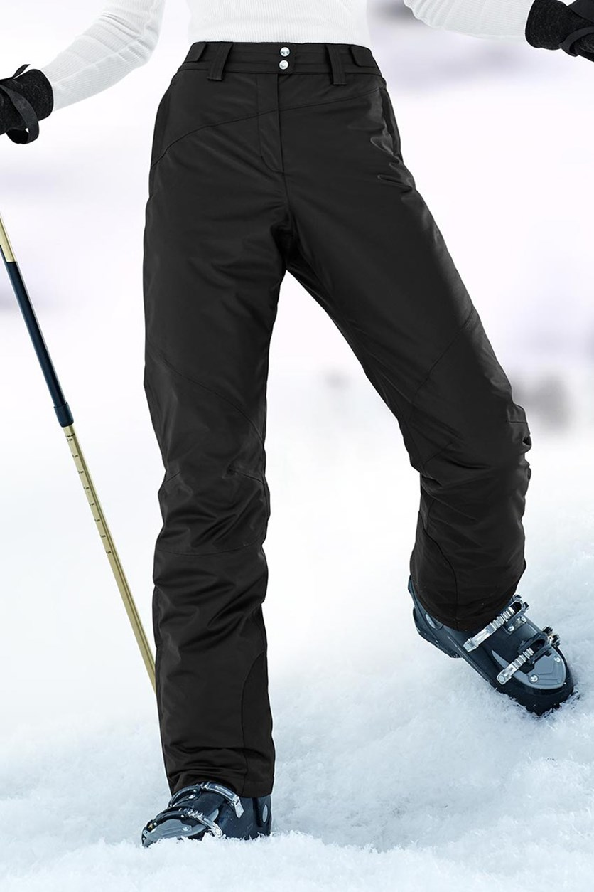 Women's Ski Pants, Black