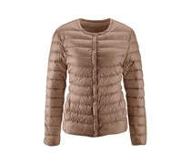 Women's Down Jacket, Modern, Taupe