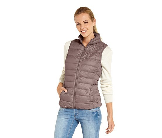 Women's Down Jacket, Deep Taupe