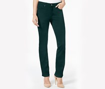 Charter Club Petite Lexington Straight-Leg Jeans, Dark Mod Teal