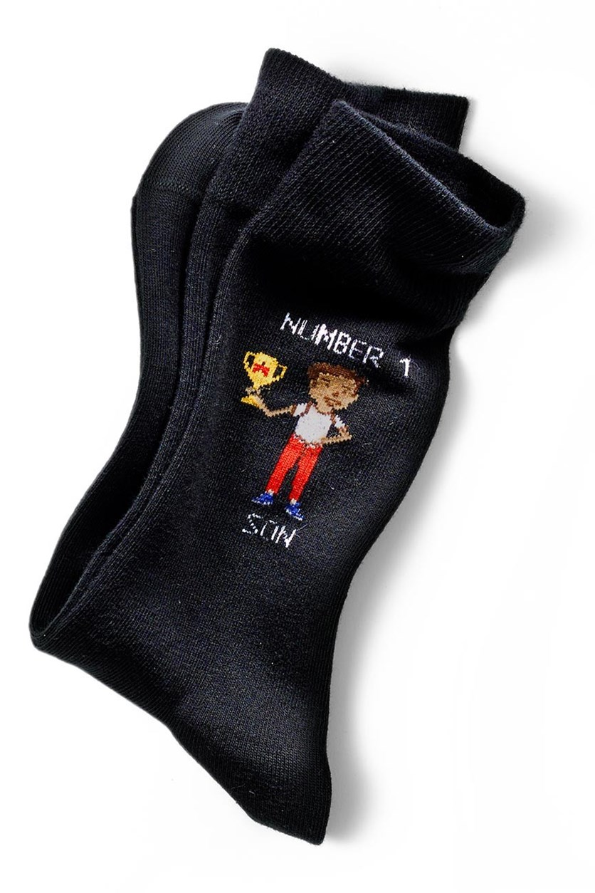 Men's Socks, 1 pair, Black