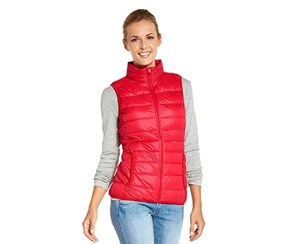 Women's Quilted Jacket, Red