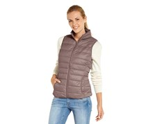 Women's Down Coat, Taupe