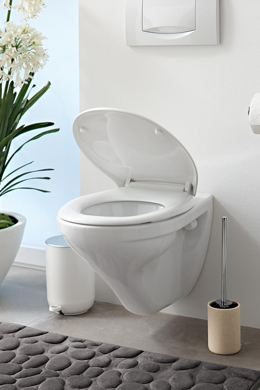 Lavatory Seat, Easy Close, White