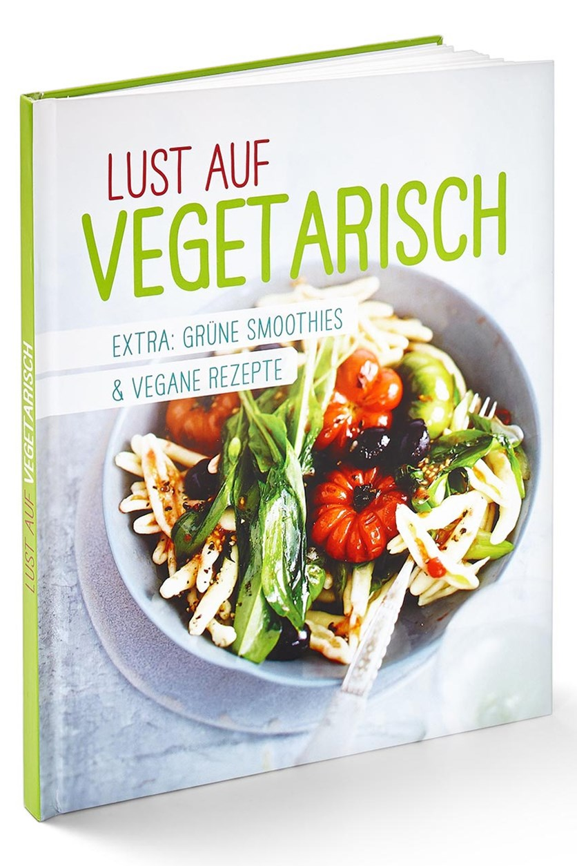 Book Vegetarisch kochen, German