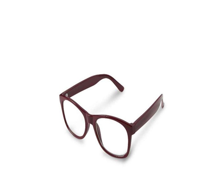 Women's Spare Reading Glasses, Maroon