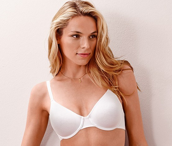 Women's Underwired Bra, White