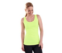 Women's Sport Top, Gray/Lime