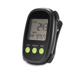 Pedometer, Black/Lime