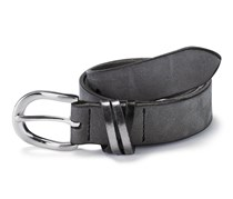 Women's Belt , Leather,Black
