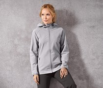 Women Softshell Jacket, Gray