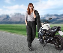Women's Biker Pants, Black