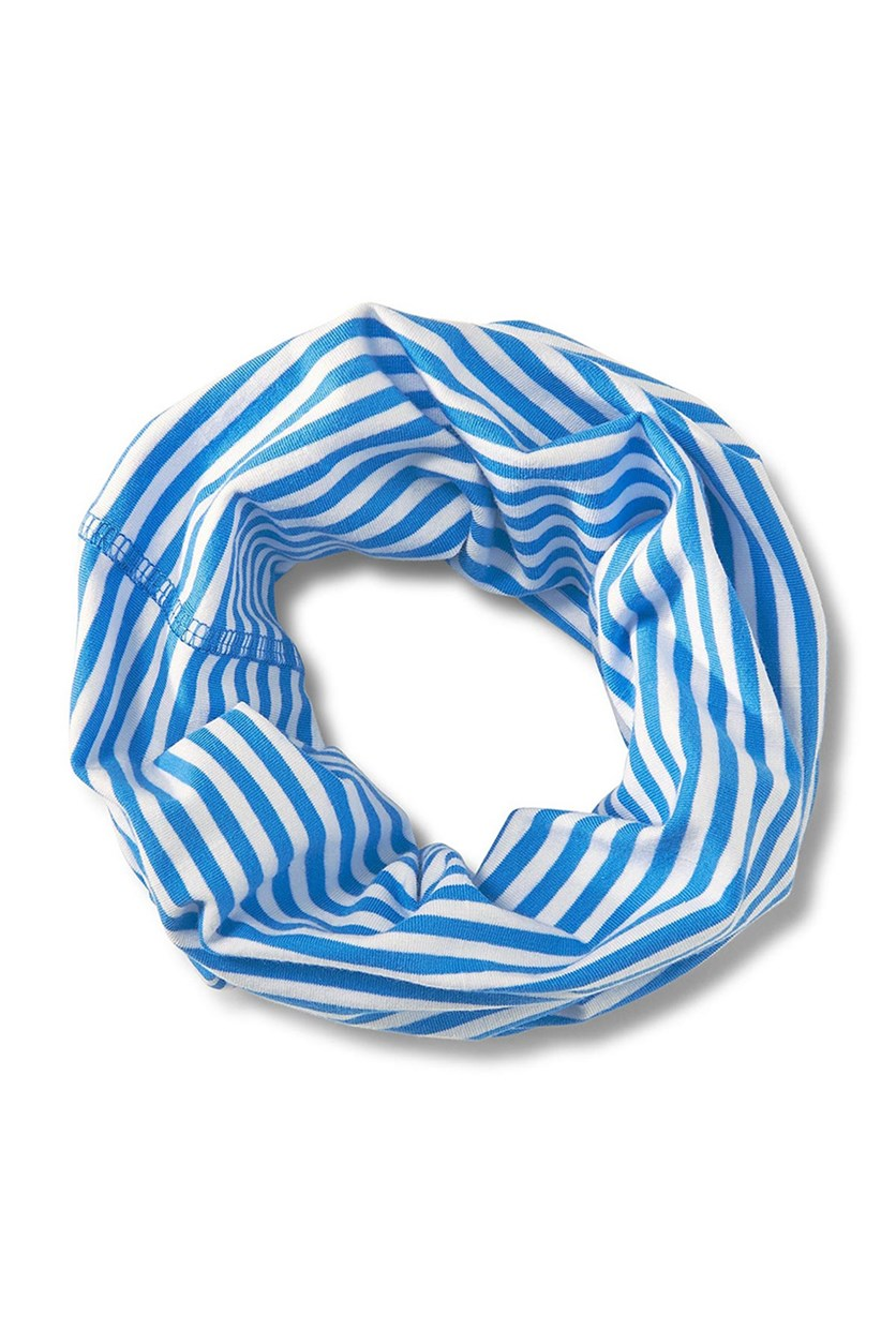 Toddler Multifunctional Scarf, Blue/White