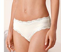 Women's Brief, Lace, 2 Pairs, White