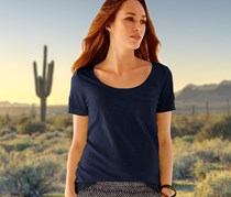 Women's Basic Shirt, Navy