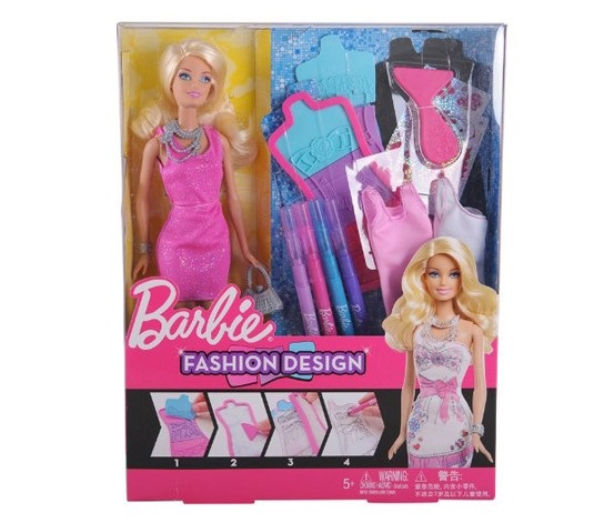 Shop Barbie Fashion Design Plates For Toys In United Arab Emirates Brands For Less