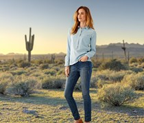 Women's Denim Jeans, Slimfit