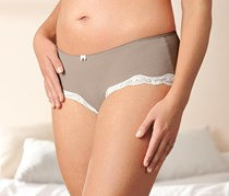 Women's Panty Set of 2, Taupe