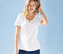 Women's Shortsleeve Shirt, White