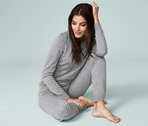 Women's Lounge Pullover, Gray
