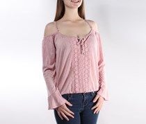 American Rag Off-the-Shoulder Top, Pale Mauve