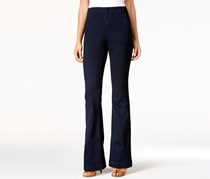 Inc International Concepts Curvy-Fit Denim Trousers, Indigo