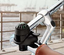 Bicycle Bell, Compass, Black