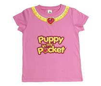 Kids Girls Puppy In My Pocket Heart Of Friendship Funky,Pink