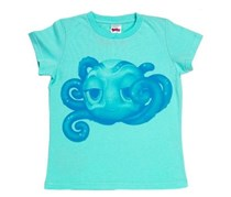 Kids Girls Zoobles Spring To Life Octopus Cool Cartoon,Blue