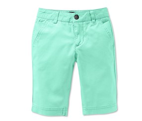 Boys Kids, Bermuda, Chino, Green