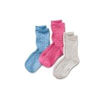Women's Socks, 3 Pairs, Structure