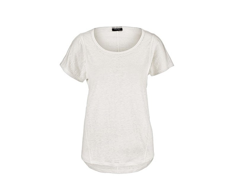 Women's Linen Shirt, White