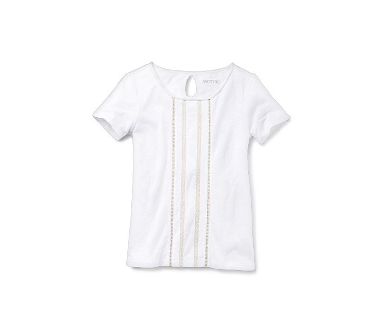 Women's Top, Shirt, White